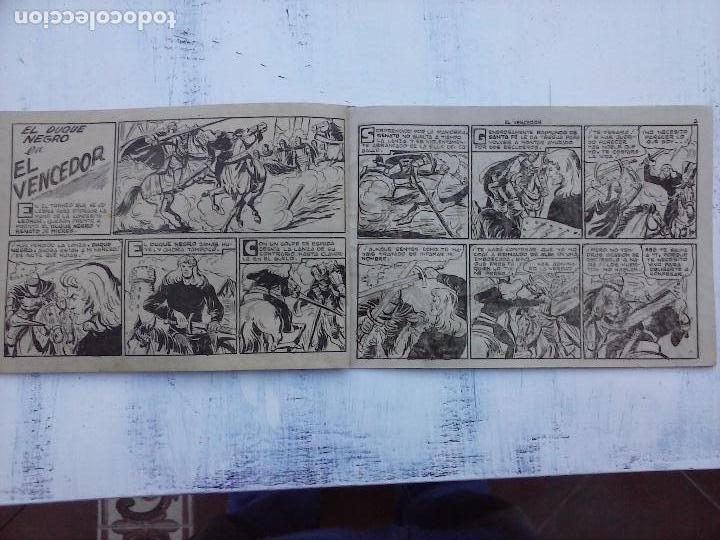 Tebeos: EL DUQUE NEGRO ORIGINAL COMPLETA 1 AL 42 MAGA 1958 - JOSÉ ORTIZ - MANUEL GAGO - VER PORTADAS - Foto 101 - 105055615