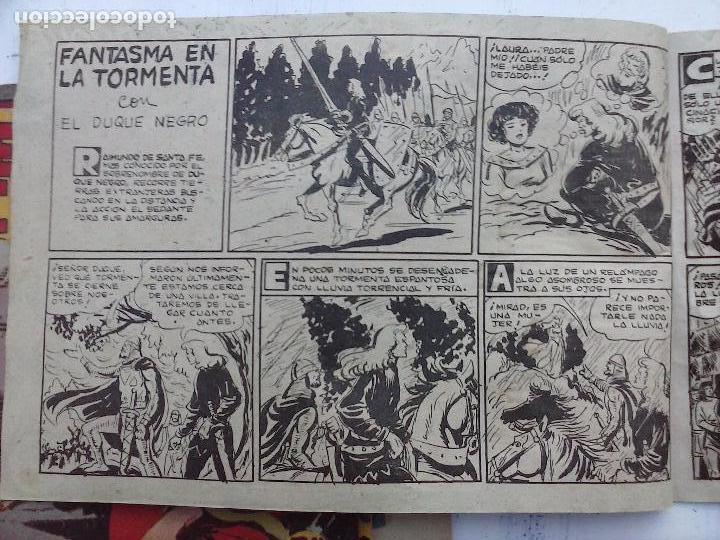 Tebeos: EL DUQUE NEGRO ORIGINAL COMPLETA 1 AL 42 MAGA 1958 - JOSÉ ORTIZ - MANUEL GAGO - VER PORTADAS - Foto 102 - 105055615