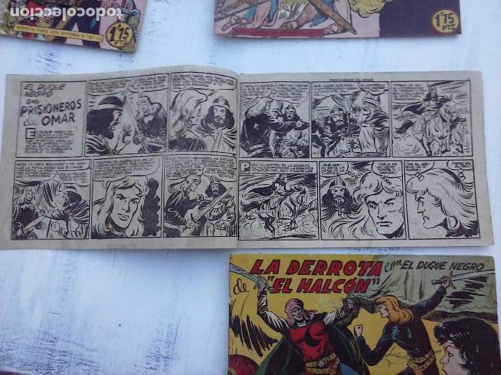 Tebeos: EL DUQUE NEGRO ORIGINAL COMPLETA 1 AL 42 MAGA 1958 - JOSÉ ORTIZ - MANUEL GAGO - VER PORTADAS - Foto 104 - 105055615