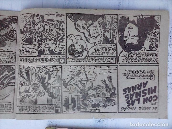 Tebeos: EL DUQUE NEGRO ORIGINAL COMPLETA 1 AL 42 MAGA 1958 - JOSÉ ORTIZ - MANUEL GAGO - VER PORTADAS - Foto 105 - 105055615