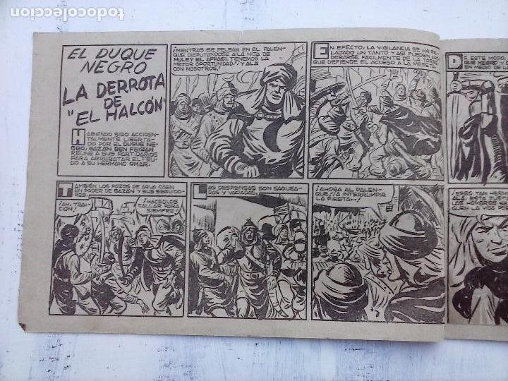 Tebeos: EL DUQUE NEGRO ORIGINAL COMPLETA 1 AL 42 MAGA 1958 - JOSÉ ORTIZ - MANUEL GAGO - VER PORTADAS - Foto 107 - 105055615