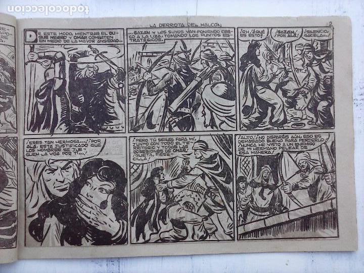 Tebeos: EL DUQUE NEGRO ORIGINAL COMPLETA 1 AL 42 MAGA 1958 - JOSÉ ORTIZ - MANUEL GAGO - VER PORTADAS - Foto 108 - 105055615