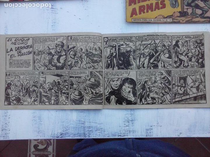 Tebeos: EL DUQUE NEGRO ORIGINAL COMPLETA 1 AL 42 MAGA 1958 - JOSÉ ORTIZ - MANUEL GAGO - VER PORTADAS - Foto 109 - 105055615
