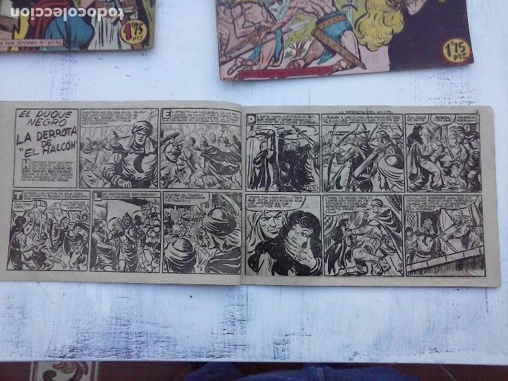 Tebeos: EL DUQUE NEGRO ORIGINAL COMPLETA 1 AL 42 MAGA 1958 - JOSÉ ORTIZ - MANUEL GAGO - VER PORTADAS - Foto 110 - 105055615