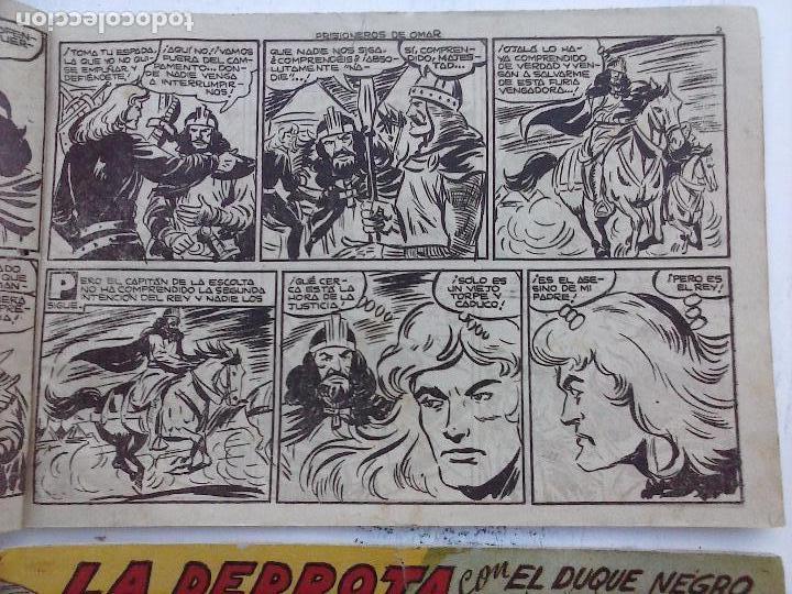 Tebeos: EL DUQUE NEGRO ORIGINAL COMPLETA 1 AL 42 MAGA 1958 - JOSÉ ORTIZ - MANUEL GAGO - VER PORTADAS - Foto 111 - 105055615