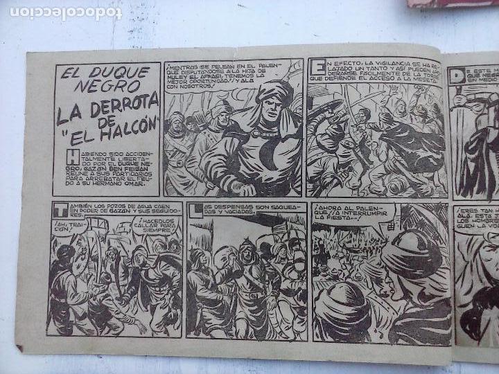 Tebeos: EL DUQUE NEGRO ORIGINAL COMPLETA 1 AL 42 MAGA 1958 - JOSÉ ORTIZ - MANUEL GAGO - VER PORTADAS - Foto 115 - 105055615