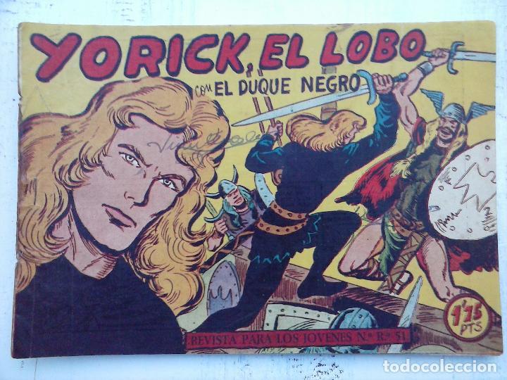 Tebeos: EL DUQUE NEGRO ORIGINAL COMPLETA 1 AL 42 MAGA 1958 - JOSÉ ORTIZ - MANUEL GAGO - VER PORTADAS - Foto 116 - 105055615