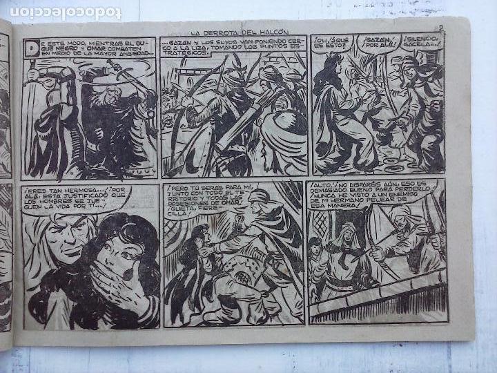 Tebeos: EL DUQUE NEGRO ORIGINAL COMPLETA 1 AL 42 MAGA 1958 - JOSÉ ORTIZ - MANUEL GAGO - VER PORTADAS - Foto 117 - 105055615