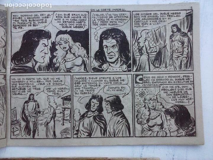 Tebeos: EL DUQUE NEGRO ORIGINAL COMPLETA 1 AL 42 MAGA 1958 - JOSÉ ORTIZ - MANUEL GAGO - VER PORTADAS - Foto 121 - 105055615