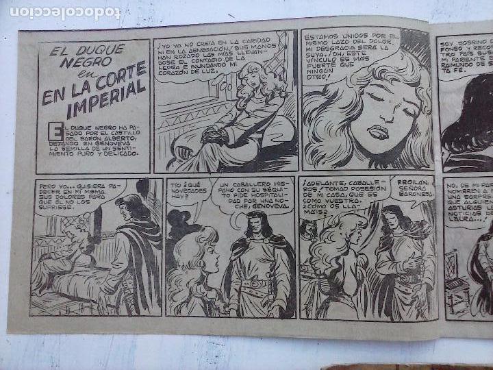 Tebeos: EL DUQUE NEGRO ORIGINAL COMPLETA 1 AL 42 MAGA 1958 - JOSÉ ORTIZ - MANUEL GAGO - VER PORTADAS - Foto 122 - 105055615