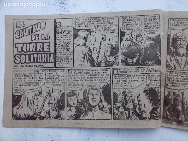 Tebeos: EL DUQUE NEGRO ORIGINAL COMPLETA 1 AL 42 MAGA 1958 - JOSÉ ORTIZ - MANUEL GAGO - VER PORTADAS - Foto 126 - 105055615