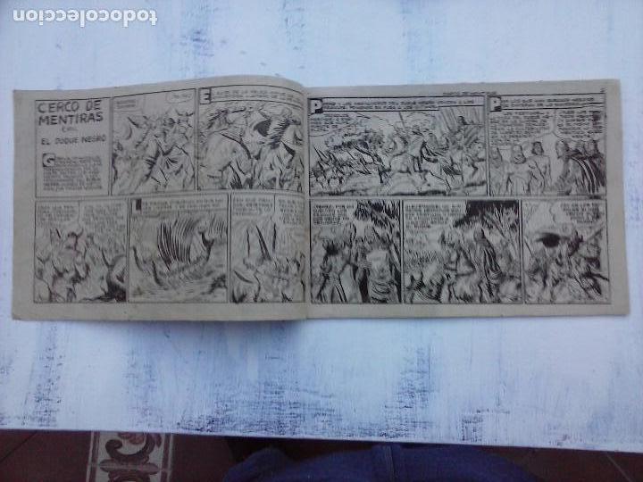 Tebeos: EL DUQUE NEGRO ORIGINAL COMPLETA 1 AL 42 MAGA 1958 - JOSÉ ORTIZ - MANUEL GAGO - VER PORTADAS - Foto 132 - 105055615