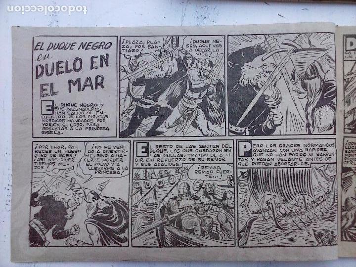 Tebeos: EL DUQUE NEGRO ORIGINAL COMPLETA 1 AL 42 MAGA 1958 - JOSÉ ORTIZ - MANUEL GAGO - VER PORTADAS - Foto 136 - 105055615