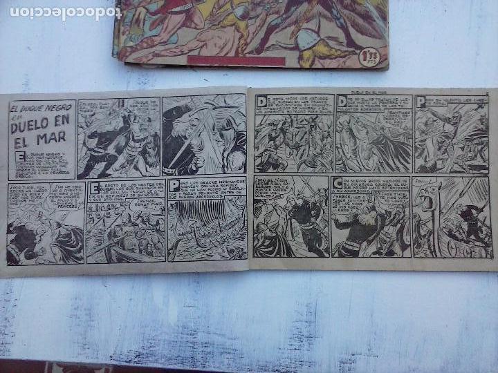 Tebeos: EL DUQUE NEGRO ORIGINAL COMPLETA 1 AL 42 MAGA 1958 - JOSÉ ORTIZ - MANUEL GAGO - VER PORTADAS - Foto 137 - 105055615