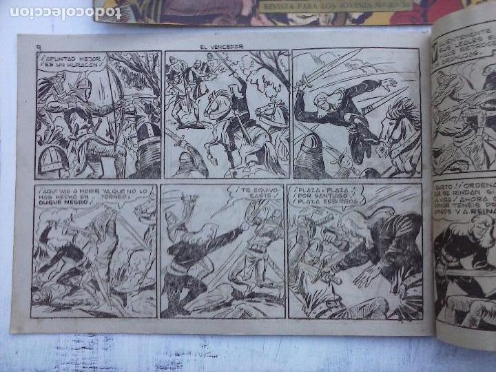Tebeos: EL DUQUE NEGRO ORIGINAL COMPLETA 1 AL 42 MAGA 1958 - JOSÉ ORTIZ - MANUEL GAGO - VER PORTADAS - Foto 140 - 105055615