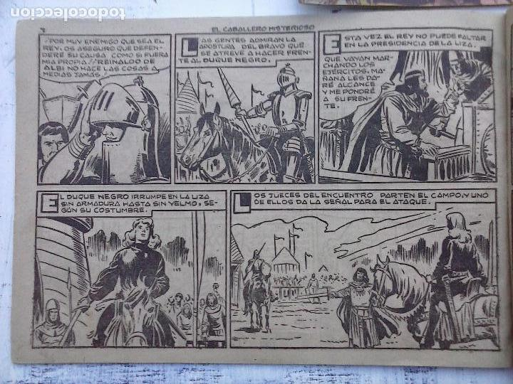 Tebeos: EL DUQUE NEGRO ORIGINAL COMPLETA 1 AL 42 MAGA 1958 - JOSÉ ORTIZ - MANUEL GAGO - VER PORTADAS - Foto 141 - 105055615