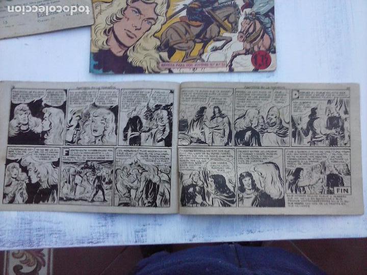 Tebeos: EL DUQUE NEGRO ORIGINAL COMPLETA 1 AL 42 MAGA 1958 - JOSÉ ORTIZ - MANUEL GAGO - VER PORTADAS - Foto 143 - 105055615