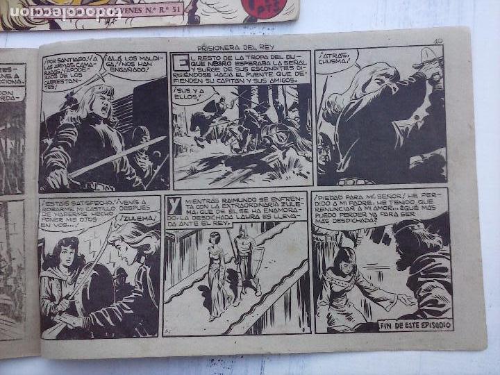 Tebeos: EL DUQUE NEGRO ORIGINAL COMPLETA 1 AL 42 MAGA 1958 - JOSÉ ORTIZ - MANUEL GAGO - VER PORTADAS - Foto 144 - 105055615