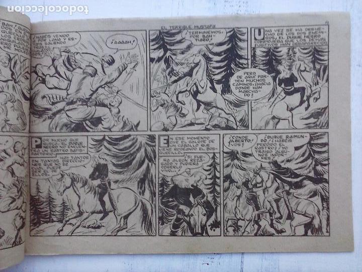 Tebeos: EL DUQUE NEGRO ORIGINAL COMPLETA 1 AL 42 MAGA 1958 - JOSÉ ORTIZ - MANUEL GAGO - VER PORTADAS - Foto 147 - 105055615