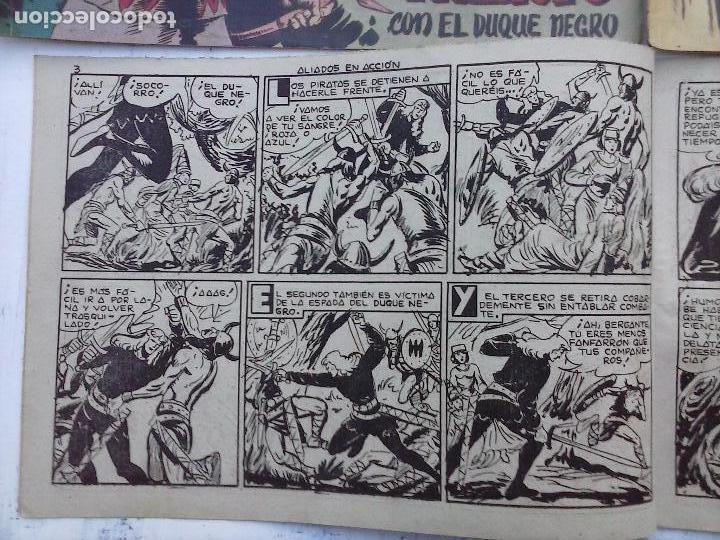 Tebeos: EL DUQUE NEGRO ORIGINAL COMPLETA 1 AL 42 MAGA 1958 - JOSÉ ORTIZ - MANUEL GAGO - VER PORTADAS - Foto 158 - 105055615