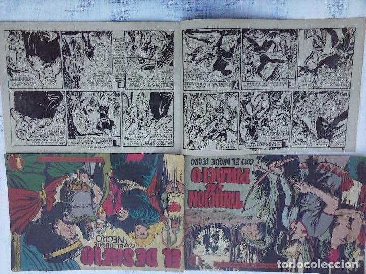 Tebeos: EL DUQUE NEGRO ORIGINAL COMPLETA 1 AL 42 MAGA 1958 - JOSÉ ORTIZ - MANUEL GAGO - VER PORTADAS - Foto 159 - 105055615