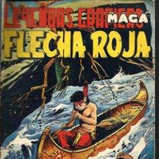 Tebeos: LEYENDAS GRAFICAS MAGA - FLECHA ROJA Nº 45 - MAGA 1962. Lote 105769215