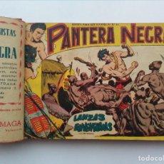 Tebeos: PANTERA NEGRA, DEL Nº2 AL Nº26 ENCUADERNADOS EN UN TOMO, LEER DESCRIPCION. Lote 107104395