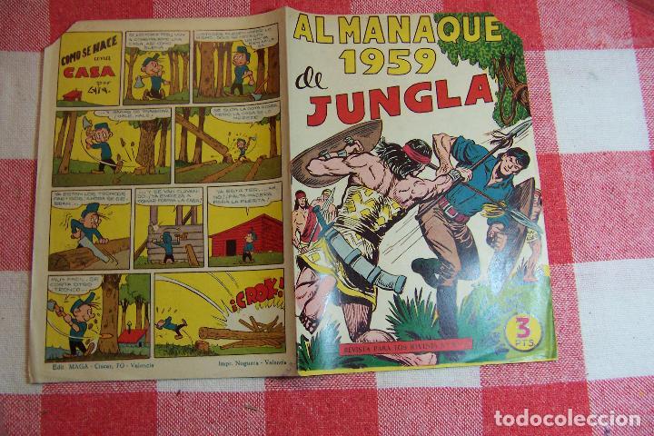 Tebeos: maga jungla y sus series - apache 1ª y 2ª - Foto 13 - 35365238