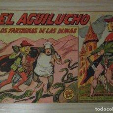 Tebeos: LOS FANTASMAS DE LAS DUNAS. Nº 51 DE EL AGUILUCHO DE LA LINEA SERIE DUQUE NEGRO.MAGA.1960.M. GAGO. Lote 108058895