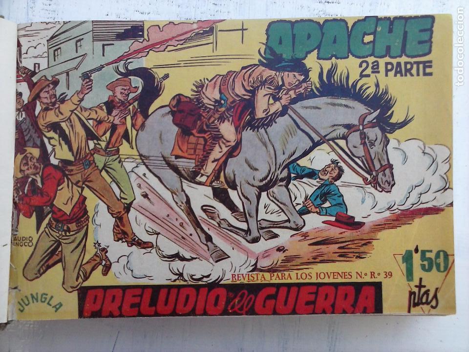 APACHE 2ª SERIE ORIGINAL COMPLETA 1 AL 76 - 1958 EXCELENTE ESTADO, VER IMAGENES (Tebeos y Comics - Maga - Apache)