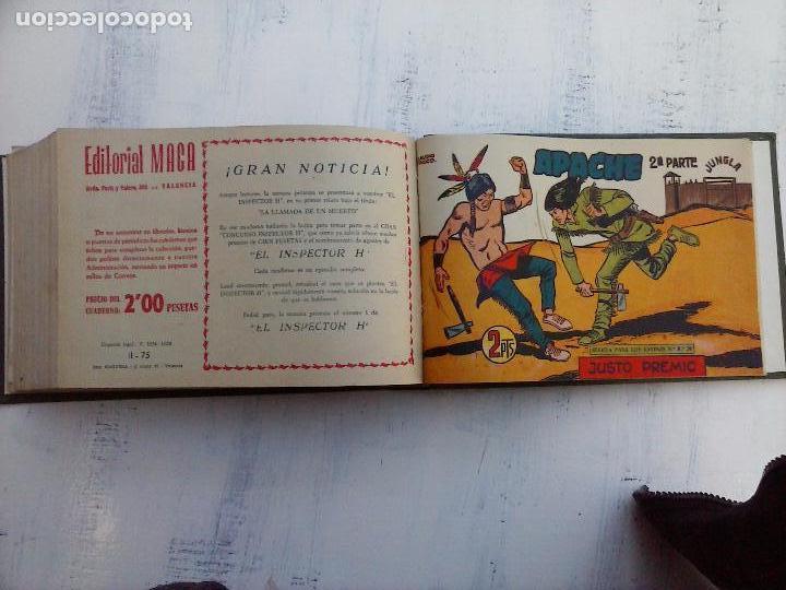 Tebeos: APACHE 2ª SERIE ORIGINAL COMPLETA 1 AL 76 - 1958 EXCELENTE ESTADO, VER IMAGENES - Foto 7 - 108097779
