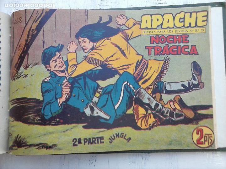 Tebeos: APACHE 2ª SERIE ORIGINAL COMPLETA 1 AL 76 - 1958 EXCELENTE ESTADO, VER IMAGENES - Foto 13 - 108097779