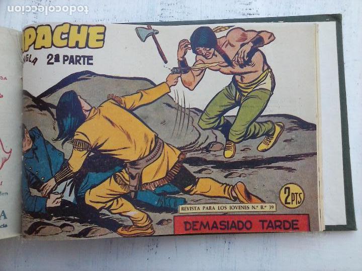Tebeos: APACHE 2ª SERIE ORIGINAL COMPLETA 1 AL 76 - 1958 EXCELENTE ESTADO, VER IMAGENES - Foto 15 - 108097779