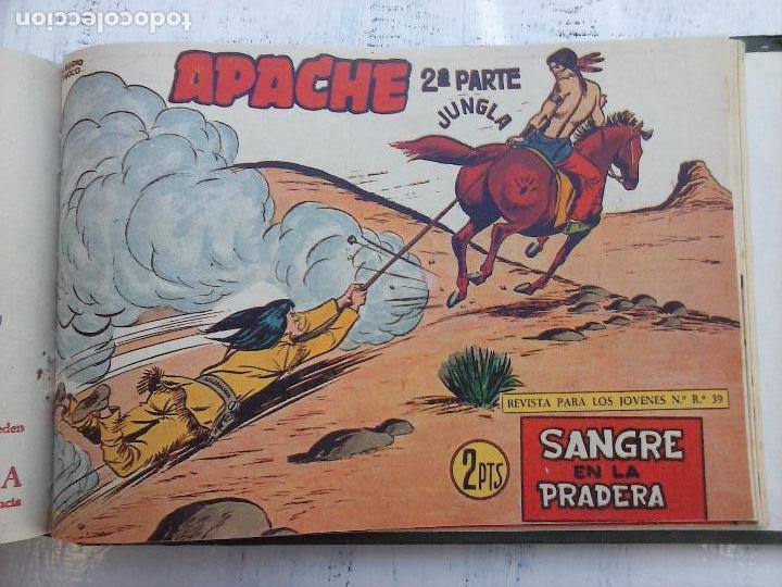 Tebeos: APACHE 2ª SERIE ORIGINAL COMPLETA 1 AL 76 - 1958 EXCELENTE ESTADO, VER IMAGENES - Foto 18 - 108097779
