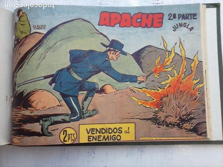 Tebeos: APACHE 2ª SERIE ORIGINAL COMPLETA 1 AL 76 - 1958 EXCELENTE ESTADO, VER IMAGENES - Foto 21 - 108097779