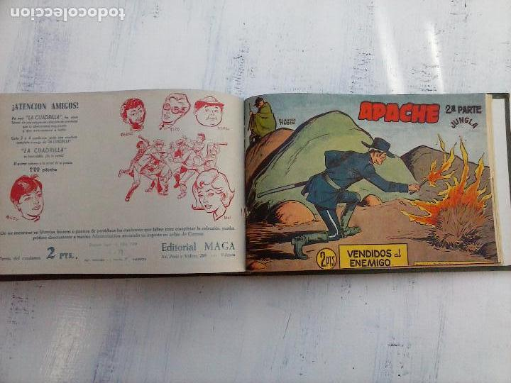 Tebeos: APACHE 2ª SERIE ORIGINAL COMPLETA 1 AL 76 - 1958 EXCELENTE ESTADO, VER IMAGENES - Foto 22 - 108097779