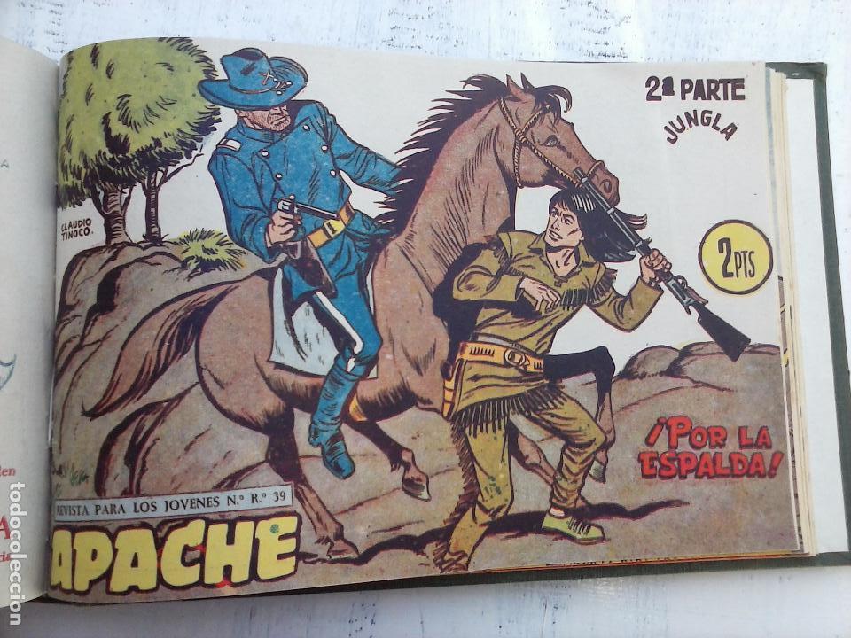 Tebeos: APACHE 2ª SERIE ORIGINAL COMPLETA 1 AL 76 - 1958 EXCELENTE ESTADO, VER IMAGENES - Foto 23 - 108097779