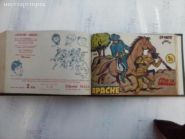Tebeos: APACHE 2ª SERIE ORIGINAL COMPLETA 1 AL 76 - 1958 EXCELENTE ESTADO, VER IMAGENES - Foto 24 - 108097779