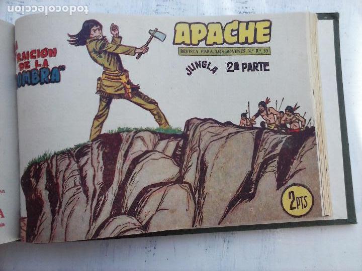 Tebeos: APACHE 2ª SERIE ORIGINAL COMPLETA 1 AL 76 - 1958 EXCELENTE ESTADO, VER IMAGENES - Foto 27 - 108097779