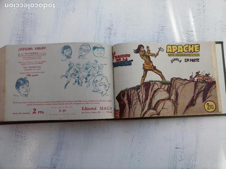 Tebeos: APACHE 2ª SERIE ORIGINAL COMPLETA 1 AL 76 - 1958 EXCELENTE ESTADO, VER IMAGENES - Foto 28 - 108097779