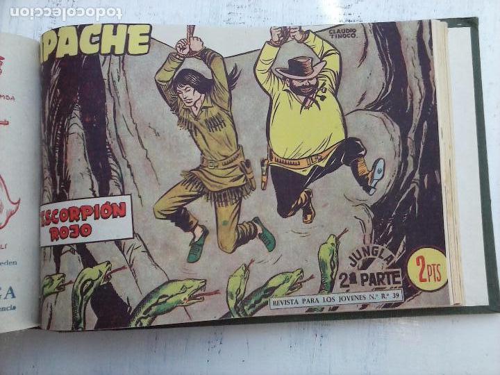 Tebeos: APACHE 2ª SERIE ORIGINAL COMPLETA 1 AL 76 - 1958 EXCELENTE ESTADO, VER IMAGENES - Foto 30 - 108097779