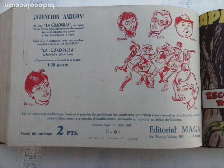 Tebeos: APACHE 2ª SERIE ORIGINAL COMPLETA 1 AL 76 - 1958 EXCELENTE ESTADO, VER IMAGENES - Foto 31 - 108097779