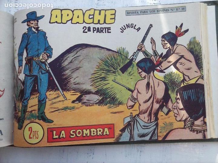 Tebeos: APACHE 2ª SERIE ORIGINAL COMPLETA 1 AL 76 - 1958 EXCELENTE ESTADO, VER IMAGENES - Foto 35 - 108097779
