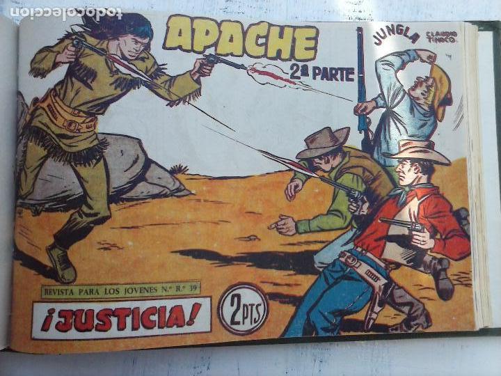 Tebeos: APACHE 2ª SERIE ORIGINAL COMPLETA 1 AL 76 - 1958 EXCELENTE ESTADO, VER IMAGENES - Foto 38 - 108097779