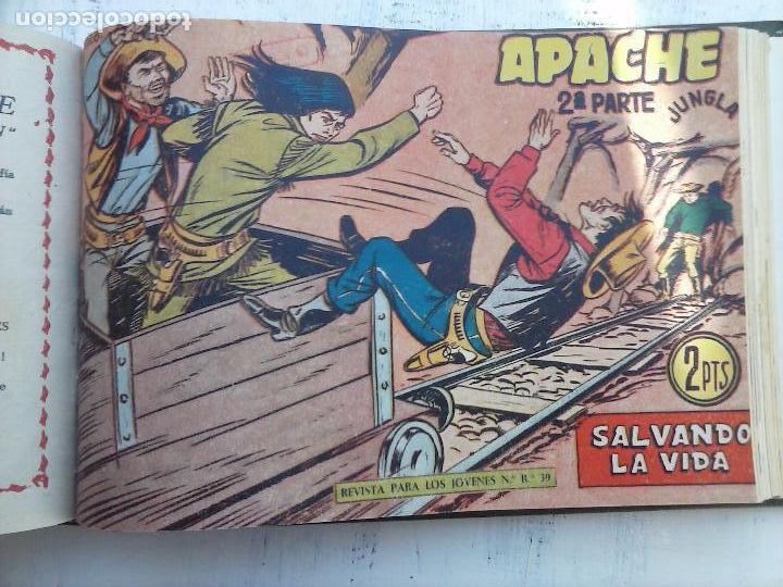 Tebeos: APACHE 2ª SERIE ORIGINAL COMPLETA 1 AL 76 - 1958 EXCELENTE ESTADO, VER IMAGENES - Foto 40 - 108097779
