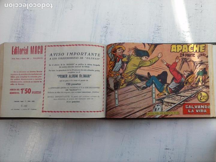 Tebeos: APACHE 2ª SERIE ORIGINAL COMPLETA 1 AL 76 - 1958 EXCELENTE ESTADO, VER IMAGENES - Foto 41 - 108097779