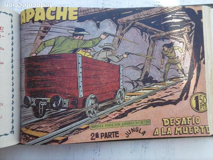 Tebeos: APACHE 2ª SERIE ORIGINAL COMPLETA 1 AL 76 - 1958 EXCELENTE ESTADO, VER IMAGENES - Foto 45 - 108097779