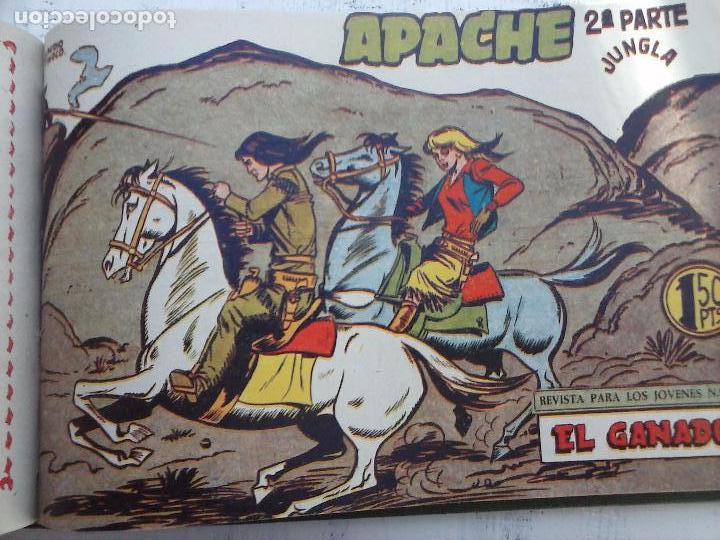 Tebeos: APACHE 2ª SERIE ORIGINAL COMPLETA 1 AL 76 - 1958 EXCELENTE ESTADO, VER IMAGENES - Foto 47 - 108097779