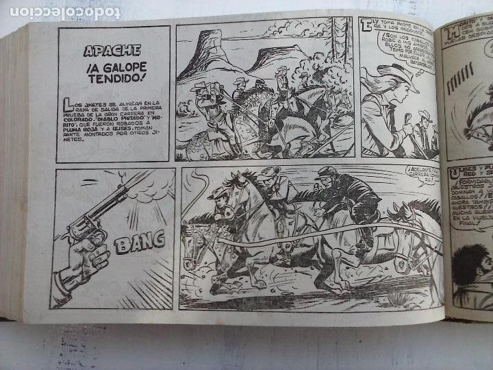 Tebeos: APACHE 2ª SERIE ORIGINAL COMPLETA 1 AL 76 - 1958 EXCELENTE ESTADO, VER IMAGENES - Foto 48 - 108097779
