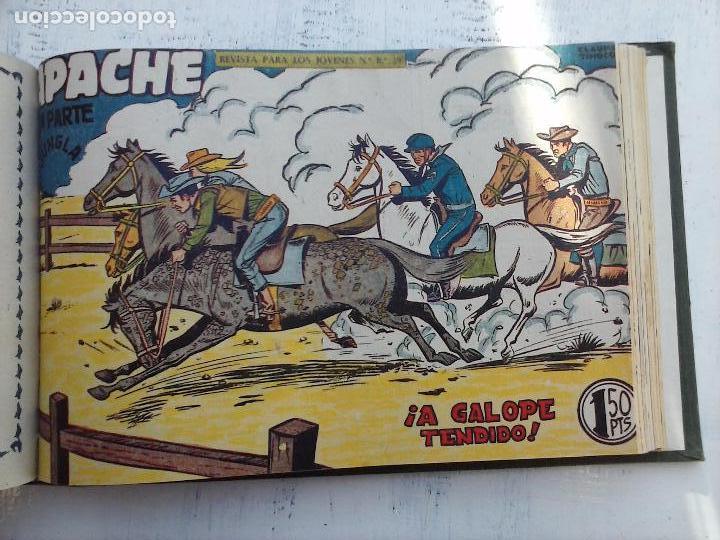 Tebeos: APACHE 2ª SERIE ORIGINAL COMPLETA 1 AL 76 - 1958 EXCELENTE ESTADO, VER IMAGENES - Foto 50 - 108097779